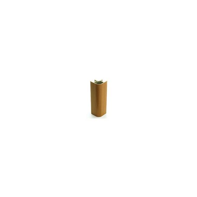ANGOLO 90° PVC H. 8 cm