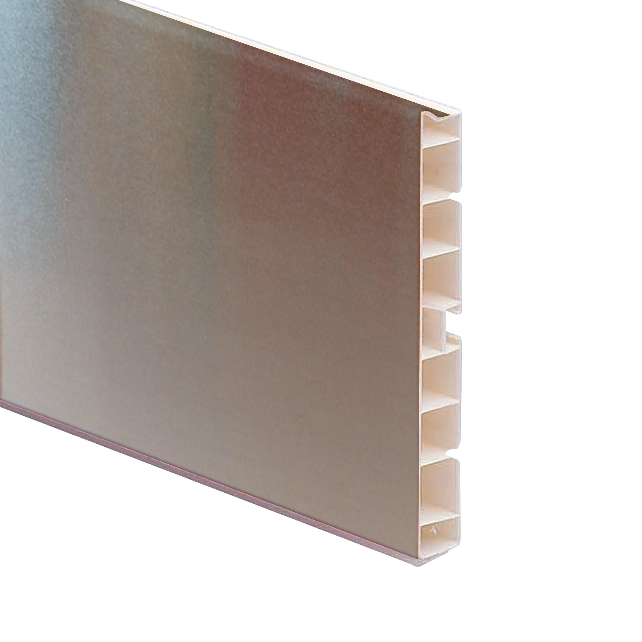 Zoccolo cucina in pvc riv alluminio h 15 cm shop - Zoccolo cucina 12 cm ...