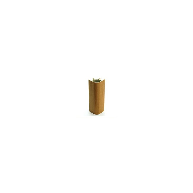 ANGOLO 90° PVC H. 15 cm